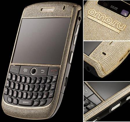 Blackberry Amosu, hanya dibuat tiga gelintir saja.