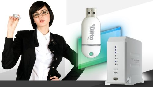 Server dengan ukuran setara USB flash drive