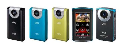 JVC Picsio GC-WP10 dan GC-FM2