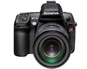 Olympus E-5 DSLR untuk fotografer profesional