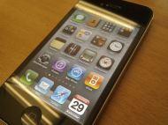 Tampilan layar iPhone
