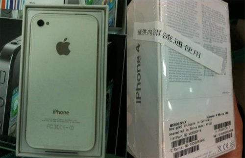 Apple iPhone 4 putih
