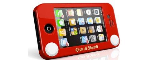 Etch-a-sketch untuk iPhone 4