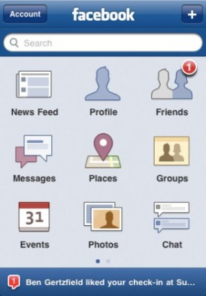 Facebook untuk iPhone