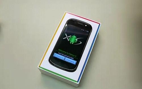 Nexus S dengan Android 2.3