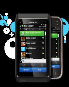 Skype di Nokia N8