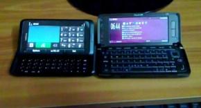 Nokia E7 dan E90