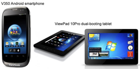 Viewsonic ponsel dan tablet Android