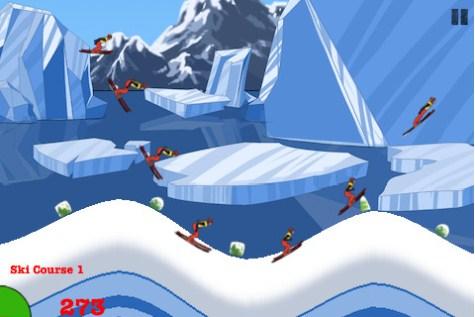 Crazy Ski Flying