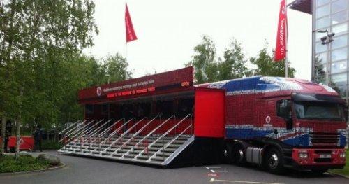 Truk Vodafone VIP
